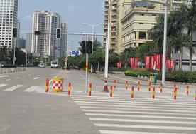 万绿园周边交通设施工程