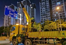 椰海大道改造工程(龙昆南-丘海段)