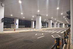 海口美兰机场综合交通枢纽二期红绿灯与监控项目